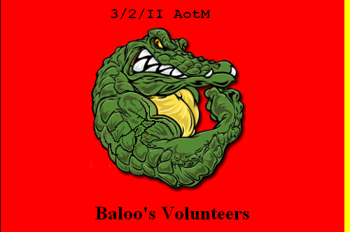 3rd Bde Battle Flag, 1 Gator Battle Victory