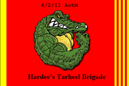 4th Bde Battle Flag, 9 Gator Battle Victories